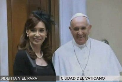 El Papa aborda con Cristina Fernández los desafíos de Latinoamérica