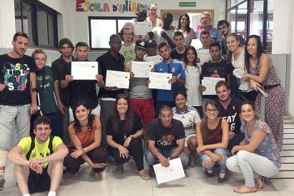 Estudiantes de la UCV, en La Ciudad de la Esperanza