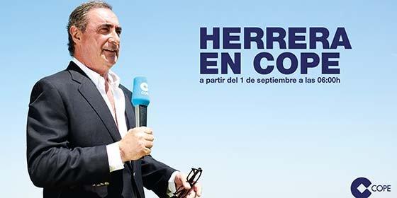Carlos Herrera se estrena en COPE ridiculizando a Podemos y al PSOE