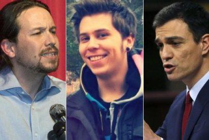 Pedro Sánchez y Pablo Iglesias se pelean en las redes sociales por culpa de 'El Rubius'
