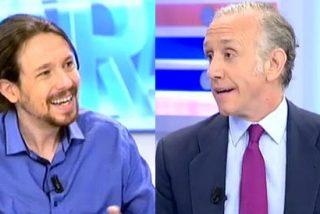 """Inda: """"Pablo Iglesias, que gana cinco veces más que Pedro Sánchez; podría haber invitado a la cena"""""""