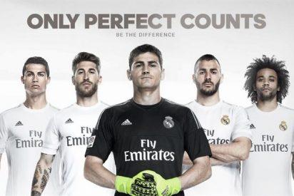 Íker Casillas, la imagen de la nueva equipación del Real Madrid