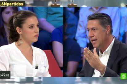 """García Albiol a Irene Montero: """"Lecciones de un partido hermano de los que gobiernan en Grecia ni una"""""""