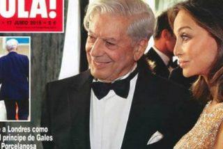"""La esposa de Vargas Llosa está """"apenada"""" por las fotos de su marido con Isabel Preysler"""