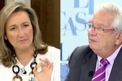 Isabel Durán pone fino a Fernando Jáuregui por negar la