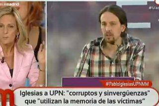 """Isabel San Sebastián pone a escurrir a Pablo Iglesias por pactar con Bildu: """"Su catadura moral es repugnante"""""""