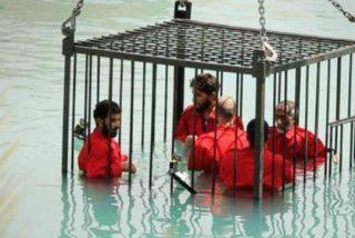 El Horror del Islam: ¡Ahogados en jaulas y decapitados con collares explosivos!