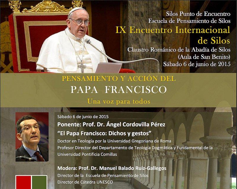 """Abad de Silos: """"El Papa Francisco quiere una Iglesia sencilla"""""""