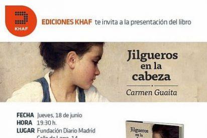 Presentación de 'Jilgueros en la cabeza', de Carmen Guaita