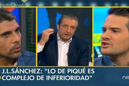 """José Luis Sánchez, a saco contra Piqué: """"En todas las borracheras hay un patoso y en las borracheras del Barcelona siempre es el mismo"""""""