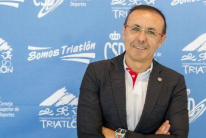 El extremeño José Hidalgo, al frente de la Delegación Española de Triatlón