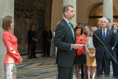 Los Reyes presidieron el segundo aniversario de la Fundación de la Diputación de la Grandeza de España
