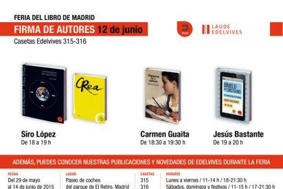 Fiesta de Ediciones Khaf en la Feria del Libro