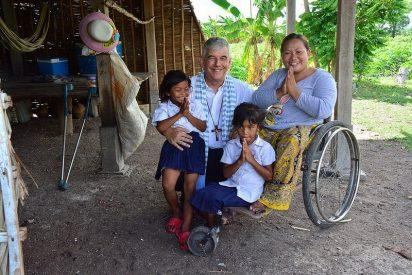El Papa verde visto desde Camboya