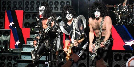 Kiss actúan en Barcelona en su gira del 40 aniversario