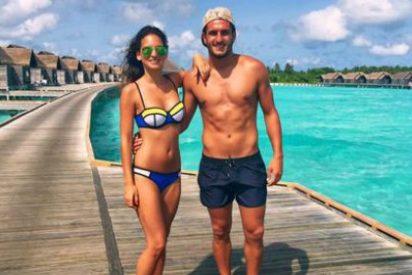 Koke presume de novia en las Maldivas