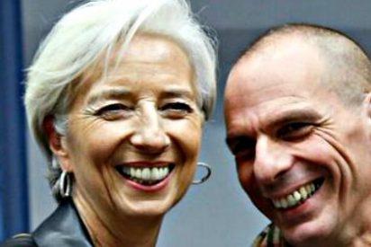"""Lagarde a Varoufakis: """"La jefa de los criminales saluda al otro bando"""""""
