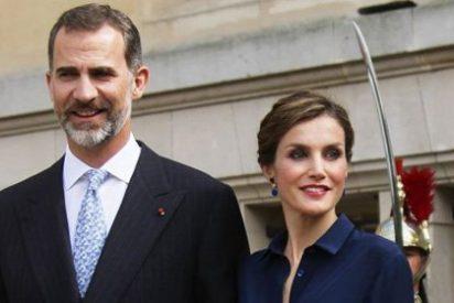 Los Reyes Felipe y Letizia en la asamblea francesa