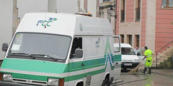Desconvocada la huelga en FCC limpieza viaria de Badajoz