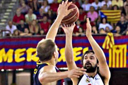 El Real Madrid gana en el Palau al Barcelona y conquista su 32ª liga ACB