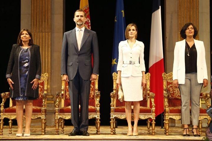 Los Reyes se reúnen con los patronatos de la Fundación Princesa de Asturias