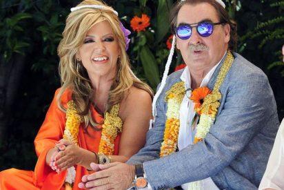 Así fue la 'desteñida' y 'hortera' boda de Lydia Lozano con su Charly