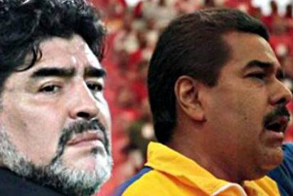 """El chavista Nicolás Maduro: """"Maradona debería ser el nuevo presidente de la FIFA"""""""
