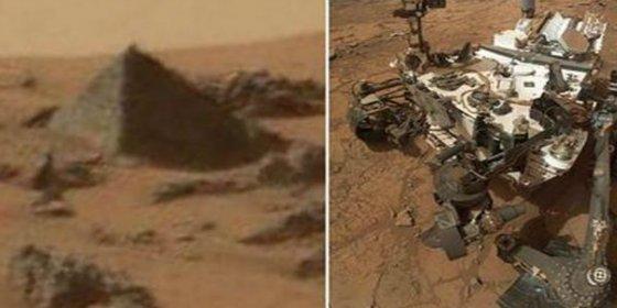 La NASA revela el origen de la pirámide detectada en Marte por el Curiosity