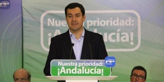 """Moreno, presidente del PP-A: """"Díaz debe distanciarse de Sánchez y de frentes 'antiPP'"""""""