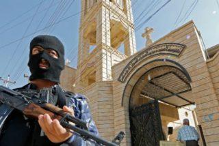 """El EI transforma un templo de Mosul en """"mezquita de los mujiahiddin"""""""