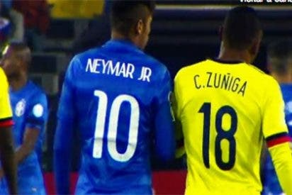 "Neymar a Zuñiga, que le lesionó en el Mundial de Brasil: ""Luego me llamas para pedirme perdón, hijo de puta"""