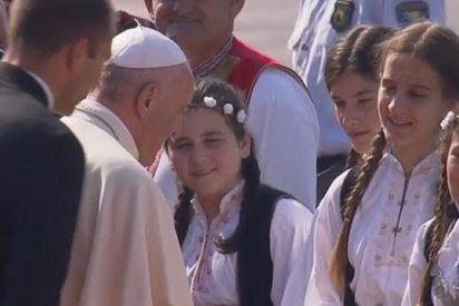 """El Papa en Sarajevo: """"He venido como peregrino de paz y de diálogo"""""""