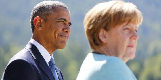 """Obama saca pecho y pide al G7 hacer frente a la """"agresión rusa en Ucrania"""""""