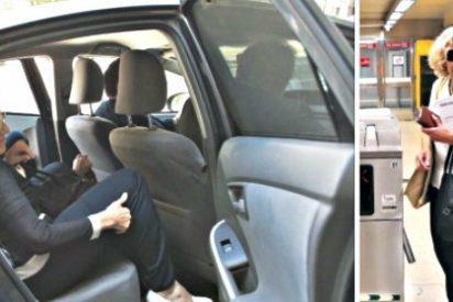 Manuela Carmena y los podemitas mantendrán 178 coches oficiales en el Ayuntamiento de Madrid