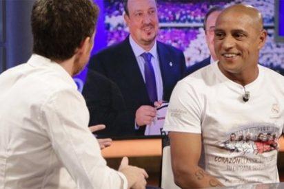 """Roberto Carlos se 'moja' al hablar de la llegada de Benítez al Madrid: """"A pesar de su experiencia, yo sería mejor"""""""