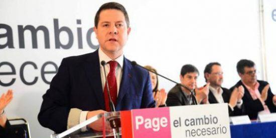 """García-Page (PSOE): """"Ciudadanos ha sido la formación mayor perjudicada por el pucherazo electoral de Cospedal"""""""