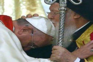 """El Papa reza para que la """"plena comunión visible"""" entre ortodoxos y católicos """"sea restablecida"""""""