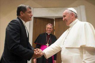 Correa invita a mandatarios latinaomericanos a la visita del Papa