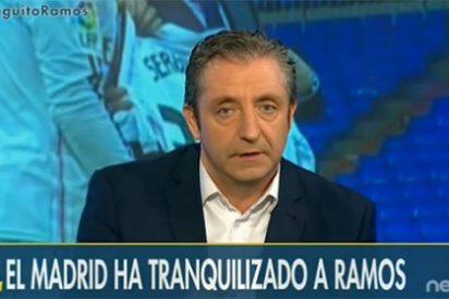 """Pedrerol recula con Ramos: """"Creo que es madridista de verdad pero se ha metido en un jardín del que no puede salir"""""""