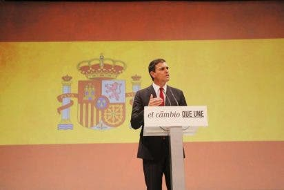 El País da permiso al PSOE para usar la bandera nacional