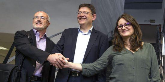 El socialista Ximo Puig y la catalanista Oltra se pelean por la presidencia valenciana más 'barata' de la historia