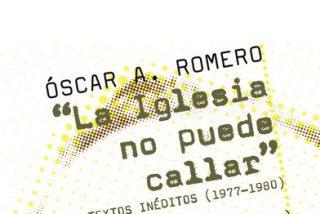 'La Iglesia no puede callar', nuevo libro de PPC sobre monseñor Romero