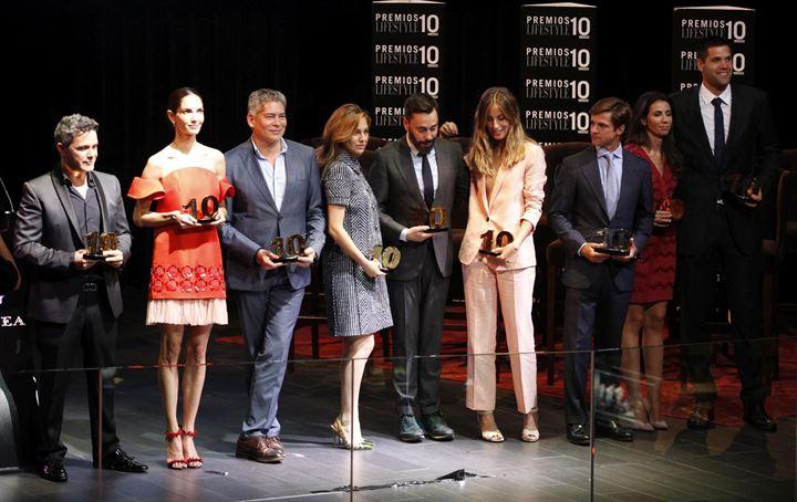 Numerosos rostros conocidos en los premios 'Lifestyle'