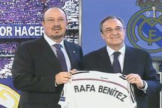 Rafa Benitez le comunica a Florentino que no cuenta con él y podría fichar por LAOTRALIGA