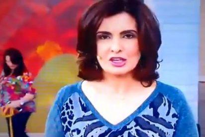 [Vídeo] La presentadora de TV que anuncia la muerte... ¡de Cristiano Ronaldo!