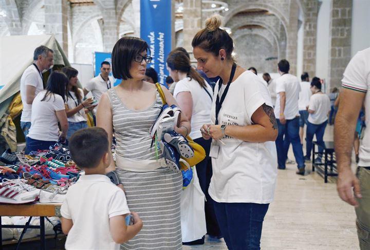 El equipo de Privalia, sale a la calle, para ayudar a UNICEF