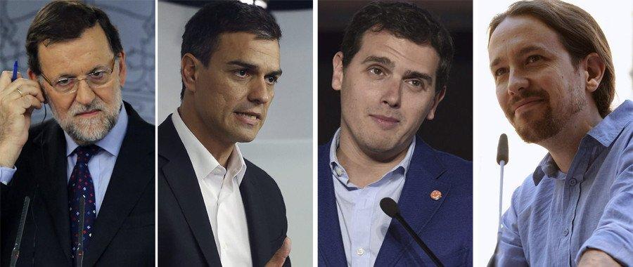 El PSOE casi pilla al PP mientras Podemos aguanta como puede y Ciudadanos se desinfla