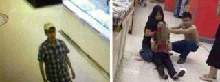 El ratero le corta el cuello a la empleada del súper por pillarle robando