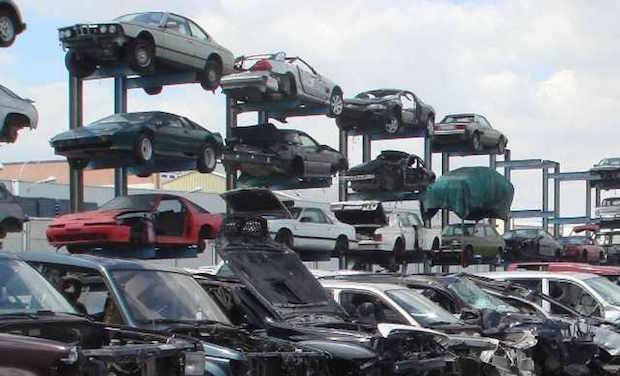 El automóvil, el producto más reciclado del mundo