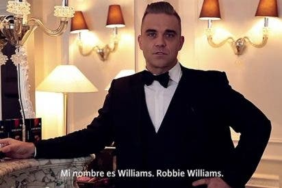 Robbie Williams se convierte en agente secreto para anunciar 'Café Royal'